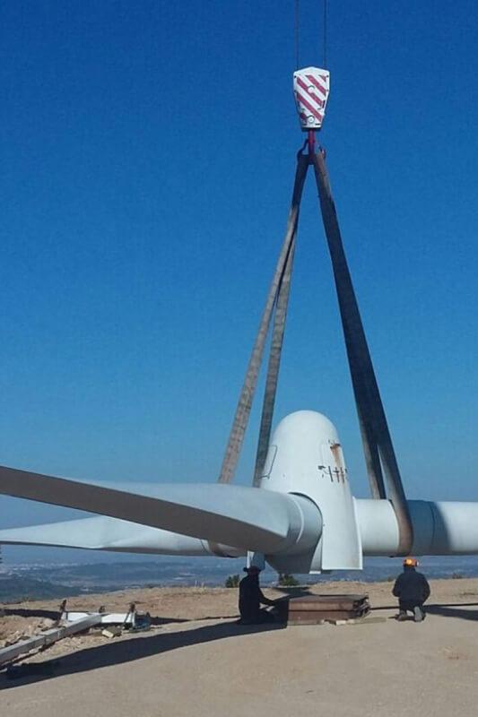 Net-Wind, nouvel acteur du démantèlement éolien en France