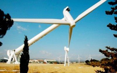 Redémarrage de l'éolienne de Rivesaltes